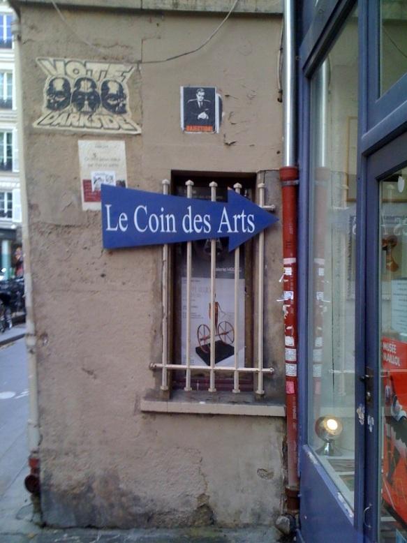 MY Paris -Le coin des Arts