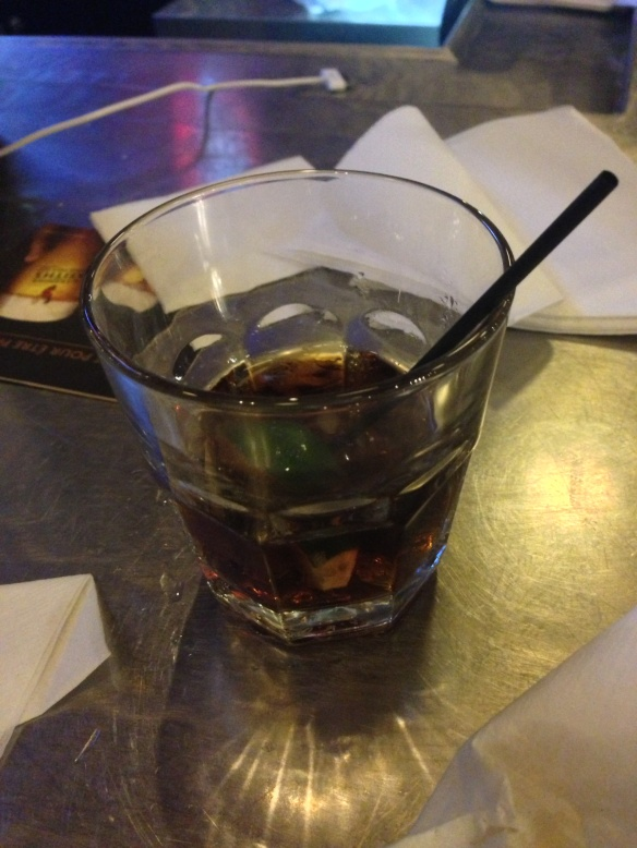 Dark Rum and Diet Coke